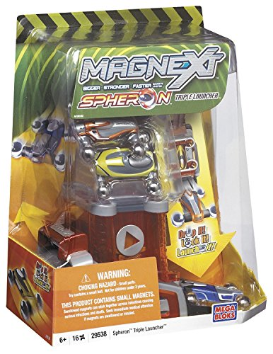 Mega Bloks Magnext Spheron Triple Car Launcher - 1