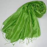 100% Silk Pashmina Scarf Shawl Wrap Throw - Over 100 beatiful colours to choose from