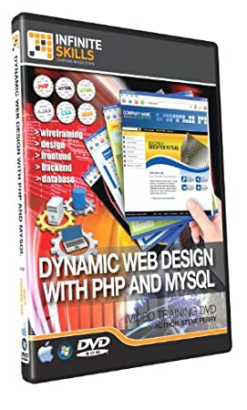 Learning Dynamic Web Design with PHP and MySQL - Training DVD - Tutorial Video