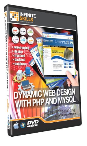 Learning Dynamic Web Design with PHP & MySQL Training DVD (PC)
