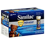 Similac Advance Infant Formula, with Iron, Birth to 12 Months, 8 ct.