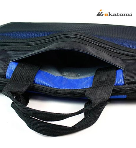 [Seal] BLUE - Pandemic 12-inch Notebook Case / Laptop Bag for Sony VAIO Duo 11.6 Enhance-Screen. Bonus Ekatomi screen cleaner