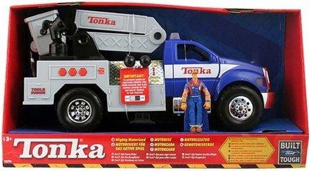 Best buy tonka mighty motorized ford f 650 cherry picker for Tonka mighty motorized cement mixer