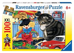 Ravensburger Kitty Playtime - 100 Piece Puzzle