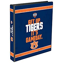 C.R. Gibson 3-Ring Binder, Auburn Tigers College Game Day - Horizontal (EC959323)