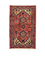 Eden Carpets Alfombra Hamadan Rojo 118 x 72 cm