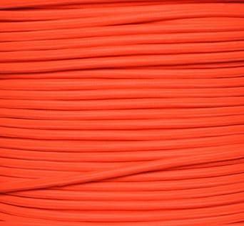 farbe neon orange textilkabel zweiadrig rund stoffkabel. Black Bedroom Furniture Sets. Home Design Ideas