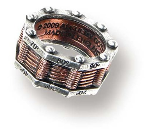 Alchemy Empire: Steampunk Hi-Voltage Toric Generator Ring