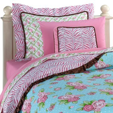 Caden Lane 1BOUGFD Boutique Girl Pink Full Duvet