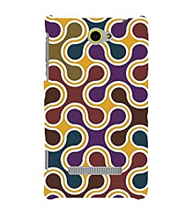 printtech Abstract Pattern Back Case Cover for HTC Windows Phone 8S