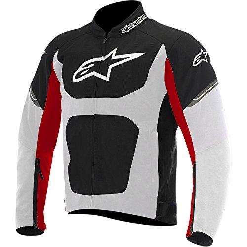Alpinestars T-Viper Air Men's Street Motorcycle Jackets - Black/White/Red / X-Large