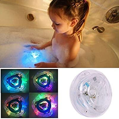 Monkeybrother Waterproof and Colorful Bathroom LED Light Toys for kids bathtub by Monkeybrother that we recomend individually.