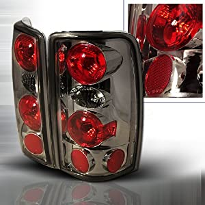2000-2006 Chevy Tahoe, 2000-2006 GMC Denali Altezza Tail Lights Smoke