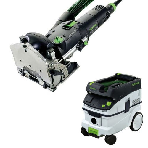 Link to Festool DF 500 Q Domino Jointer + CT 26 E Dust Extractor Package