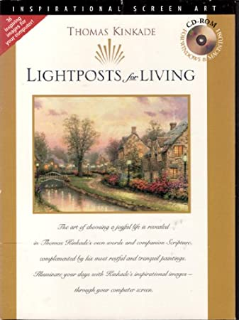 Lightpost for Living Screensaver Thomas Kinkade