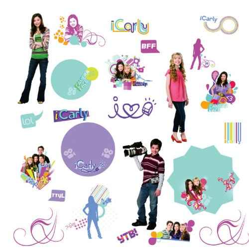 RoomMates RMK1362SCS iCarly Peel & Stick Wall Decals - 1