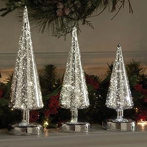 Mercury Glass Trees Lookup Beforebuying