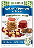 GoPicnic Turkey Pepperoni & Cheese, 3.0 Ounce (Pack of 6)