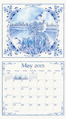 Legacy Publishing Group, Inc. 2015 Wall Calendar, On Wooden Shoes by Annie Meussen (WCA12891)