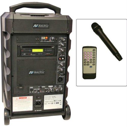 Amplivox Titan 100-Watt Wireless Portable Pa System