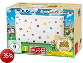 Nintendo 3DS XL  - Konsole, weiß  + Animal Crossing (vorinstalliert) - Limitierte Edition [Edizione: Germania]