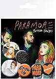 Paramore Logos 6 Badge Set Pack