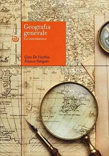 Geografia generale Un'introduzione PDF