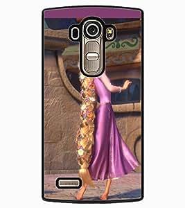 ColourCraft Cartoon Princess Design Back Case Cover for LG G4
