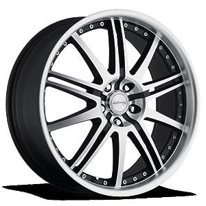 Katana GT10 Matte Black Machined Face Wheel (20×8)