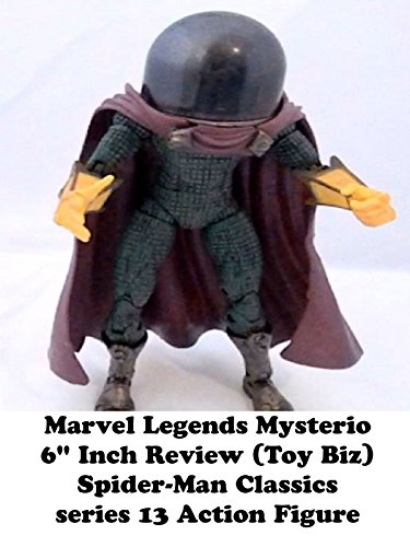 "Marvel Legends MYSTERIO review 6"" inch (Toy Biz) Spider-Man Classics series 13 action figure on Amazon Prime Video UK"