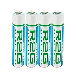 Lenmar Ready-2-Go R2GAAA4 1.2V 850mAh Rechargeable NiMH AAA Battery - 4 Pack