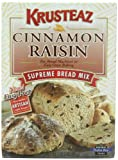 Krusteaz Cinnamon Raisin Supreme Bread Mix, 1 lb 5 oz,  (Pack of 4)