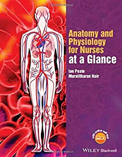 Book Cover: Anatomy and Physiology for Nurses at a Glance