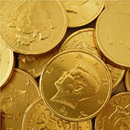 Chocolate Large Gold Coins 5lb