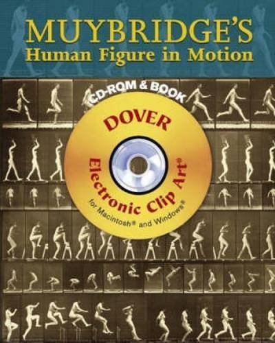 Muybridge's Human Figure in Motion (Dover Electronic Clip Art) (CD-ROM and Book) (Human Figure In Motion compare prices)