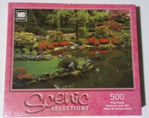 Scenic Selections 500pc. Puzzle-Japanese Gardens, Oregon, USA - 1