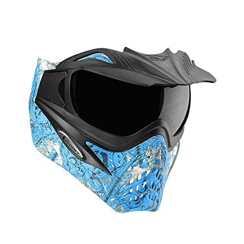 G.I. Sportz VForce Grill Paintball Mask / Thermal Goggles (Ronin Blue) (Silicone Shooting Target compare prices)