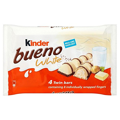Kinder Bueno Twin Bars White Chocolate (4x43g)