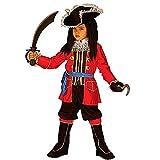 Children's Pirate Captain Child 128cm Costume for Buccaneer Fancy Dress