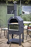 La Hacienda 56107US Steel Construction Pizza Oven and Smoker