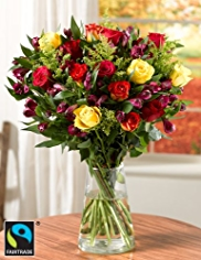 Fairtrade® Autumn Bouquet