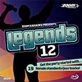 Zoom Karaoke CD+G - Legends Volume 12 - 19 Female Standards/Jazz Tracks [Card Wallet] Zoom Karaoke