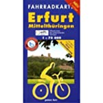 Fahrradkarte Erfurt-Mittelth�ringen:...