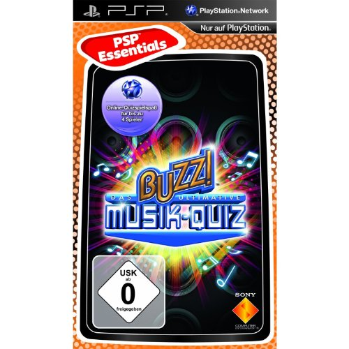 BUZZ! - Das ultimative Musik - Quiz [Essentials] - [Sony PSP], Sony PSP