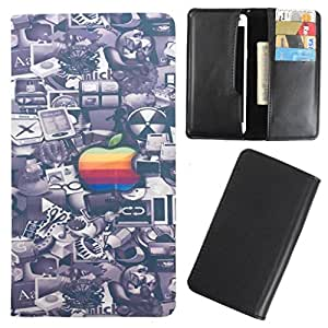DooDa - For Lenovo S920 PU Leather Designer Fashionable Fancy Case Cover Pouch With Card & Cash Slots & Smooth Inner Velvet