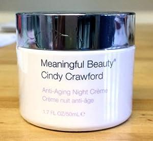 Cindy Crawford Meaningful Beauty Anti-aging Night Creme 1.7 Fl Oz
