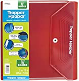Mead Trapper Keeper 1.5 Inch Binder, 3 Ring Binder, Red (72680)