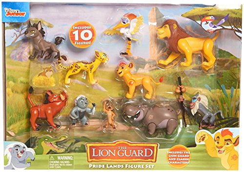 Just Play Boys Lion Guard Deluxe Figure Pack