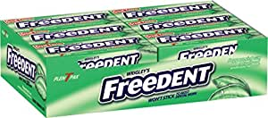 Freedent Peppermint Gum, 15-Stick Plen-T-Paks (Pack of 24)