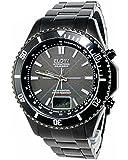 [エルジン] ELGIN 腕時計 ソーラー 電波受信 FK1371B-BP メンズ[並行輸入品]